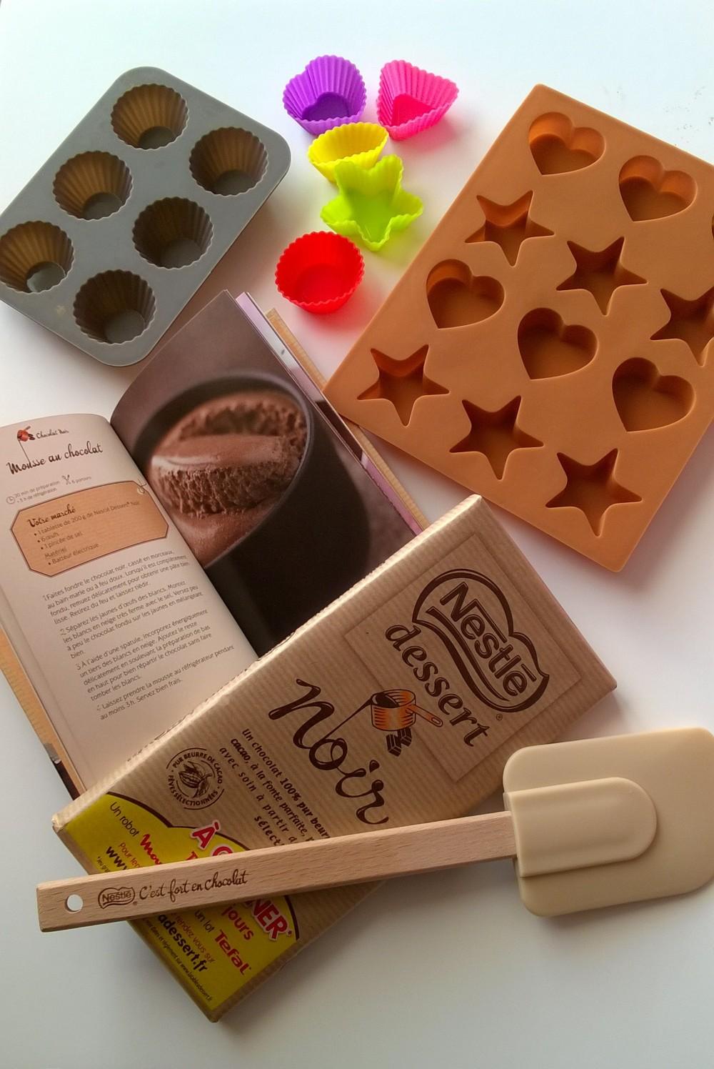 Moules silicones, recettes mousse chocolat nestle, chocolat patissier