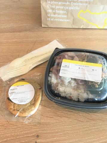 Frichti livraison repas ampaza in the kitchen