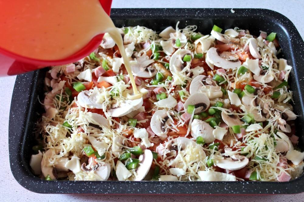 strata-au-jambon-poivron-preparation