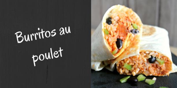 Burritos-au-poulet-recette-facile