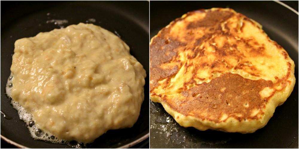 cuisson-pancakes-de-plantain-brunch-africain-ampaza