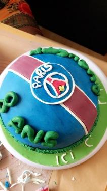 Cake design foot PSG