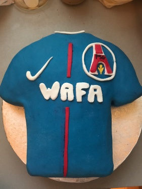 Gâteau Maillot foot PSG